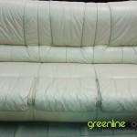 Ādas dīvāna tīrīšana